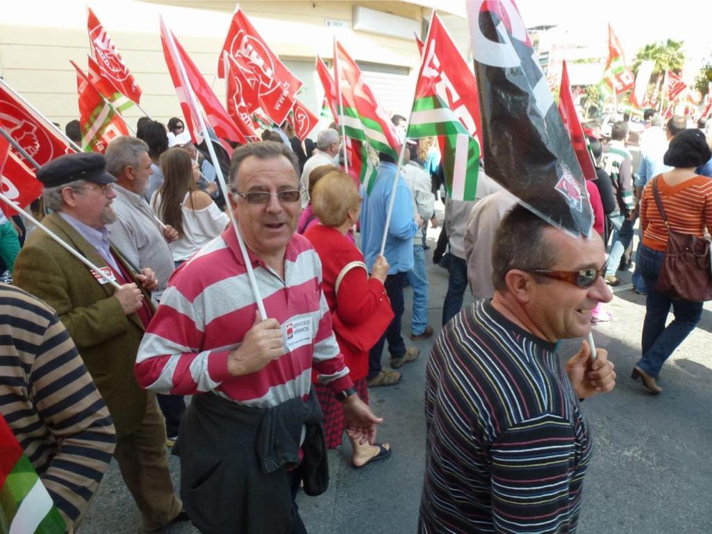 Fotos Manifestación 29M en Motril