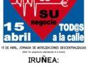 Iruñea: Concentración por la sanidad pública y de calidad