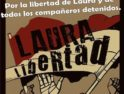 Valencia: Concentración por la Libertad de Laura y de los encarcelados por el 29M