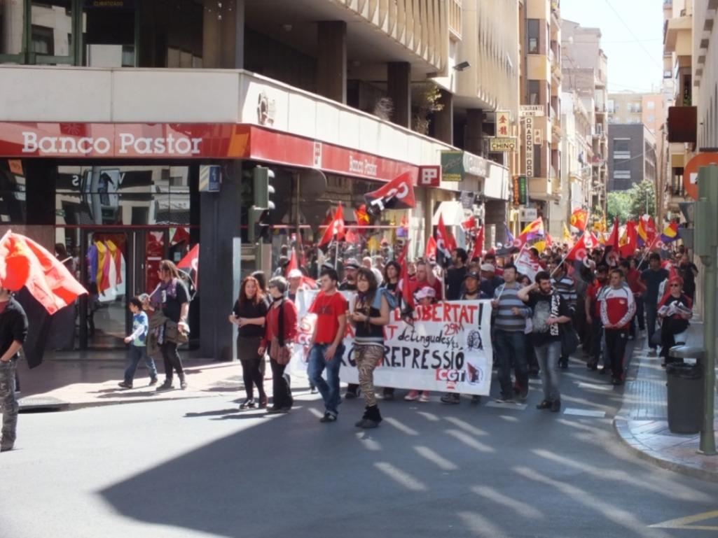 1º de mayo en Castelló
