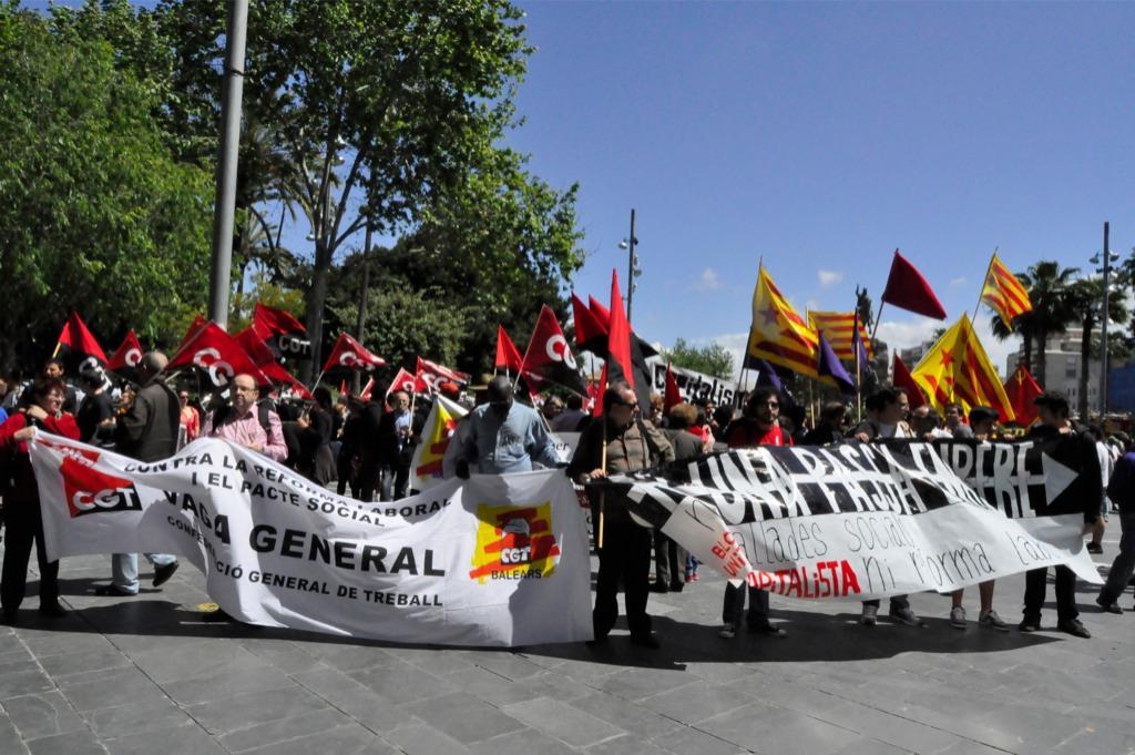 1º de mayo en Balears