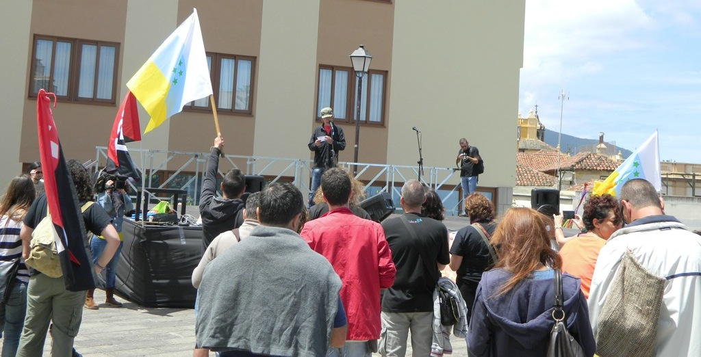 1º de mayo en Tenerife