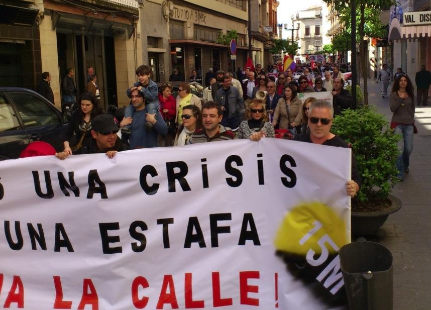 1º de mayo en Linares
