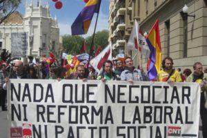 1º de mayo en Huesca
