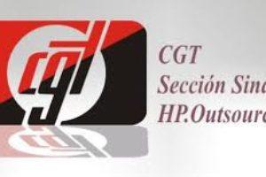 Triunfo de CGT en la elecciones HP Consultoría y Aplicaciones Zaragoza.
