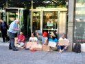 Zaragoza: Mendigando por la Pública