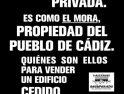 Cádiz: Asamblea de «Valcarcel recuperado»