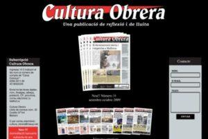 Entrevista a la redacción de la revista Cultura Obrera