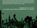 Presenación del documental «Sueños Colectivos» en Alicante