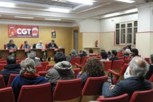 """Inauguración de la XI Semana Cultural Libertaria de Burgos y de la Exposición """"La lengua como liberación: el esperanto"""""""