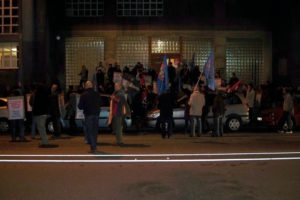 Protestas en Gijón contra la actuación policial del 14N