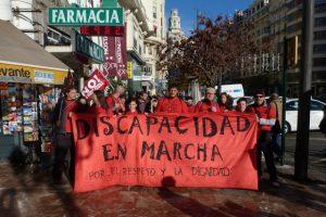 DISCAPACIDAD EN MARCHA 7ª y última etapa de la II Marcha por el Respeto y la Dignidad
