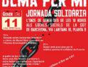 Jornada solidaria de CGT Barcelona «hoy por ti, mañana por mí»