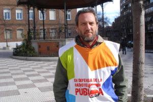 """Entrevista a José Ángel Jiménez, trabajador de Telemadrid """"En el modelo del PP los trabajadores de Telemadrid molestábamos»"""