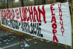 Solidaridad con los compañeros de Bariloche, Uruguay
