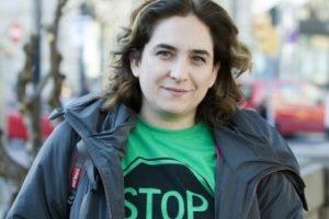 Entrevista a Ada Colau, portavoz de la Plataforma de Afectados por la Hipoteca (PAH)