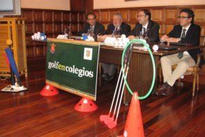 Golf en las escuelas: la prioridad educativa del Ayto. de Palencia