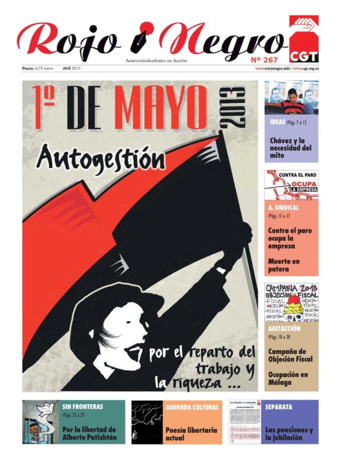 Rojo y Negro 267 abril 2013 + Addenda Suplemento Cultural de RyN