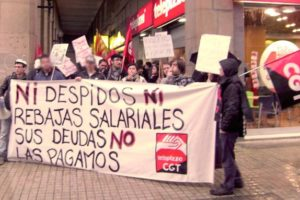 Exitosa concentración solidaria con los trabajadores/as del Telepizza