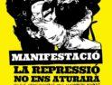 Gran manifestación antirrepresiva en Castellón