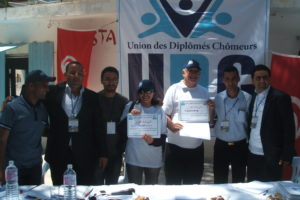 Celebrado el 1º Congreso de la UDC de Túnez, con la participación de CGT
