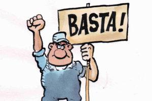 Represión sindical en Xixon
