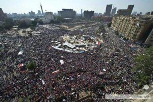 Anarquismo en Egipto, entrevista en la plaza Tahrir