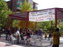 SOS Park Alkosa: Concentración y Cadena humana en el Ajuntament d'Alfafar por el mantenimiento de la contrata de la Cooperativa de Limpieza del barrio