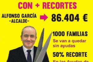 Intento de «escrache» contra los recortes del Ayuntamiento de Barakaldo