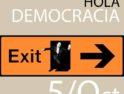 Movilizaciones 5 de Octubre: «Fuera mafia, hola democracia»