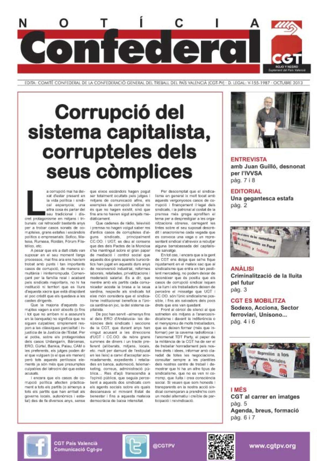 Noticia Confederal Octubre 2013