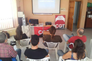 La CGT conmemora el Día Internacional para la Eliminación de la Violencia de Género con un curso sobre agresión en el ámbito laboral
