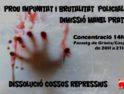 Convocatoria en Barcelona contra la brutalidad y la impunidad de los mossos d´esquadra