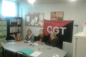CGT ocupa la sala de reuniones de Mecaplast contra la persecución sindical