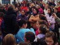 Concentraciones en los colegios de Archidona y Villanueva de Tapia.