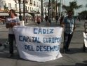La Coordinadora de Desemplead@s de la provincia de Cádiz sale a la calle