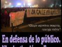 Huelga de basuras en Alcorcón y manifestación