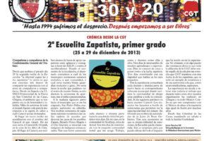 EZLN: 30 y 20 – enero 2014