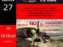 27F: Charla-coloquio «Fracking» en el Ateneo Libertario La Idea