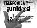Huelga en Telefónica y concentración en Alicante