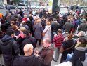 Fátima Báñez suspende un acto en Valencia para evitar las protestas de parados y paradas, sindicatos y partidos políticos