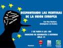 Charla en Salamanca: Desmontando las mentiras de la UE