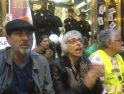 [Fotos] Encierro de la PAH en un Bankia de Castelló