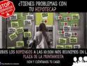 10-a Alacant: Concentración Stop Desahucios
