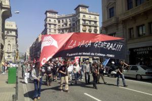 [Vídeos y fotos] Manifestacion en Barcelona: CGT-METAL por un convenio digno