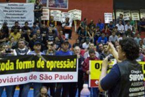 Solidaridad internacional con los trabajadores del Metro de Sao Paulo (Brasil)