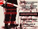 Concentración en apoyo de Carmen y Carlos
