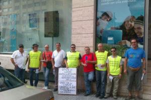 La plantilla de Telefónica encargada del mantenimiento de los equipos de telecomunicaciones continúa con la huelga