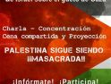18-j Alacant: Actos solidarios con el pueblo palestino