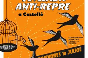 Velada anti-repre en Castelló